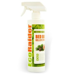 EcoRaider All Natural Bed Bug Killer Spray (Large)