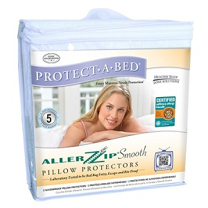 "Allerzip Bed Bug Mattress Encasement (Queen, 9"" Depth)"